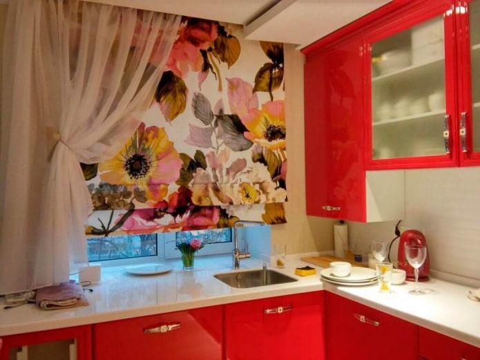 rideaux lumineux pour la cuisine
