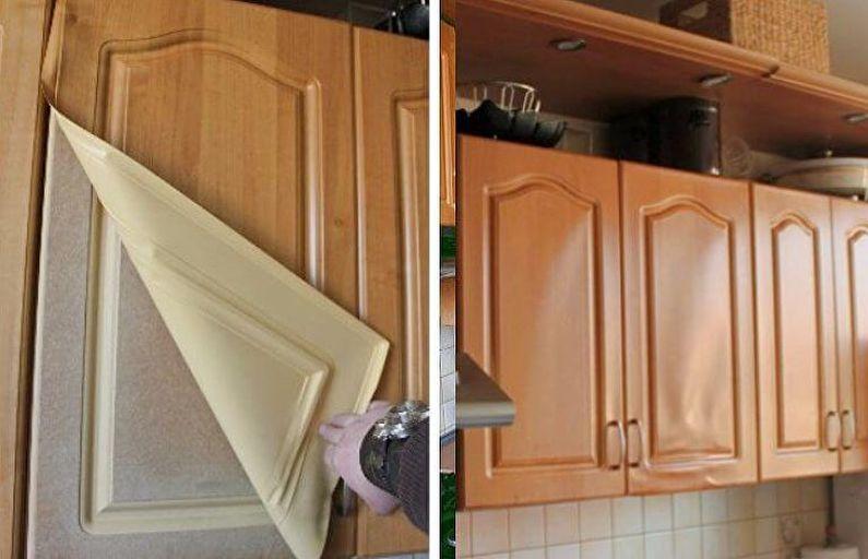 Restauration de meubles de cuisine bricolage