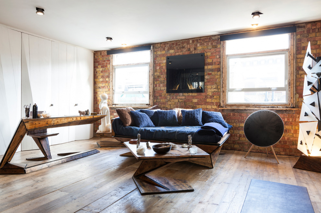 Les projecteurs aideront à souligner la brutalité du style loft