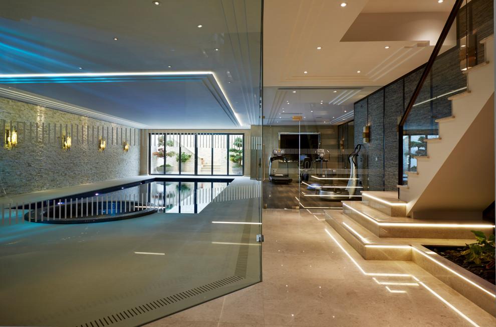 Design d'intérieur high-tech super-tech