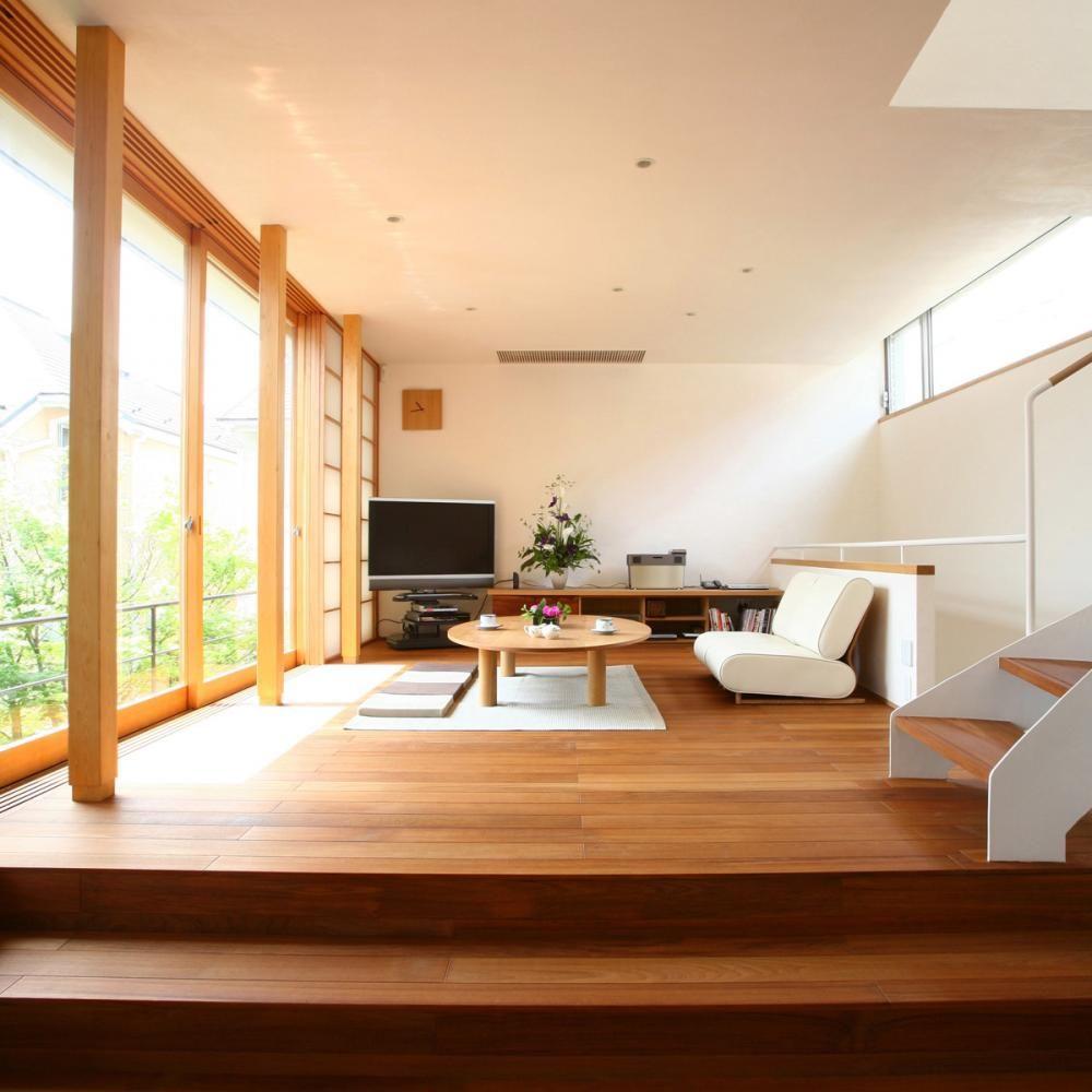 Beaucoup de lumière, d'espace et de matériaux naturels - les principes du design d'intérieur japonais