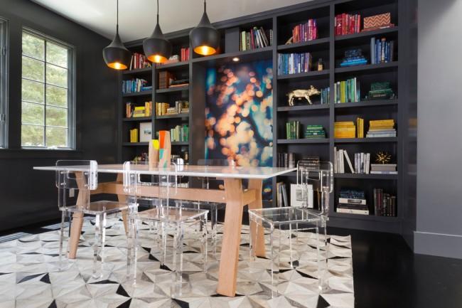 Tables à manger.  Le design et l'ergonomie de la table à manger méritent une attention particulière, car nous y passons beaucoup de temps avec la famille et les invités.