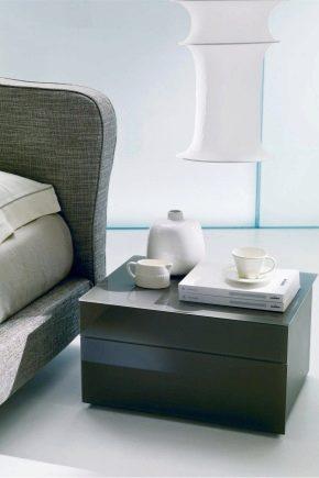 Tables de chevet pour la chambre