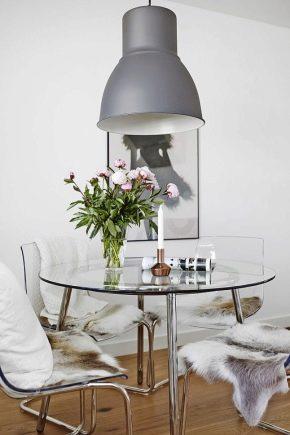 Tables en verre Ikea