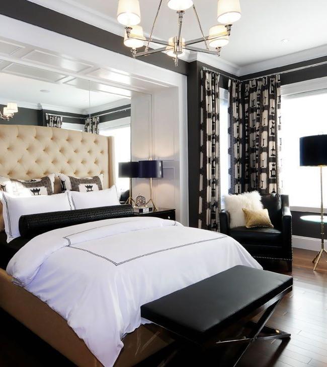 Tête de lit en cuir beige exquis