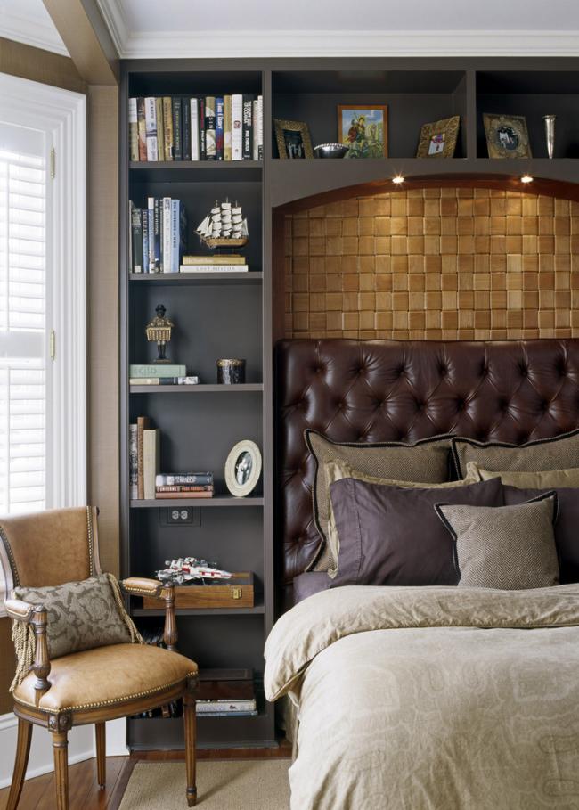 Les meubles en cuir véritable sont très impressionnants