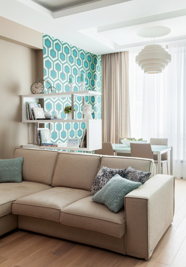 Un bon exemple de zonage avec des meubles