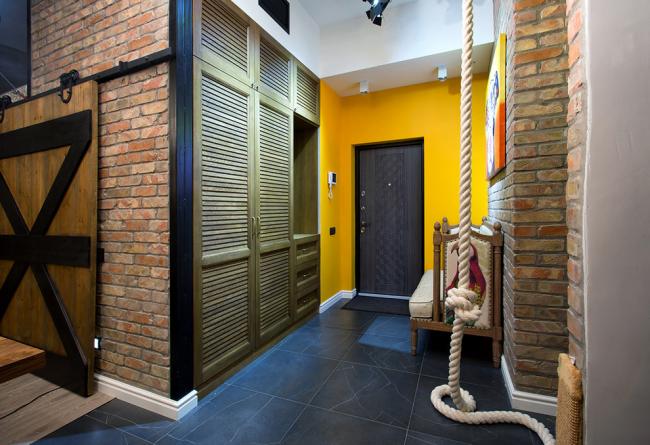 Intérieur de style loft