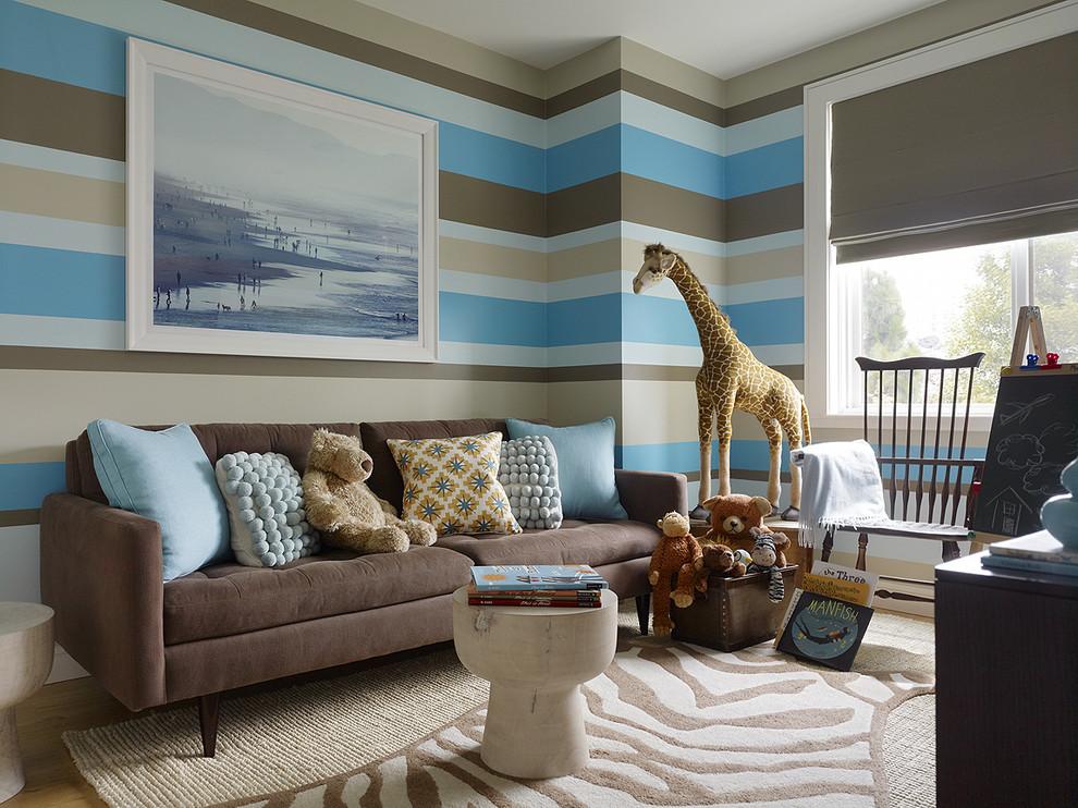 Le tapis de la chambre de l'enfant doit être respectueux de l'environnement.
