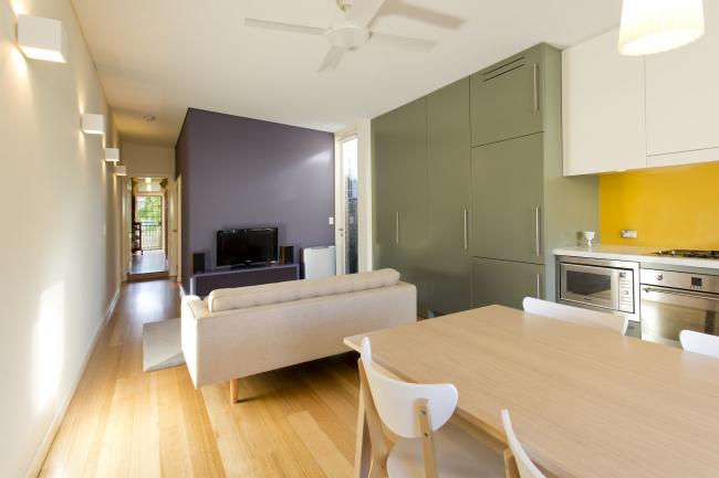 Une belle combinaison de couleurs dans un intérieur moderne