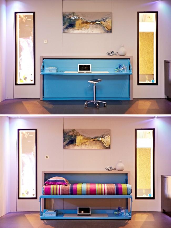 Le moyen le plus rapide de convertir votre lieu de travail en un lit simple