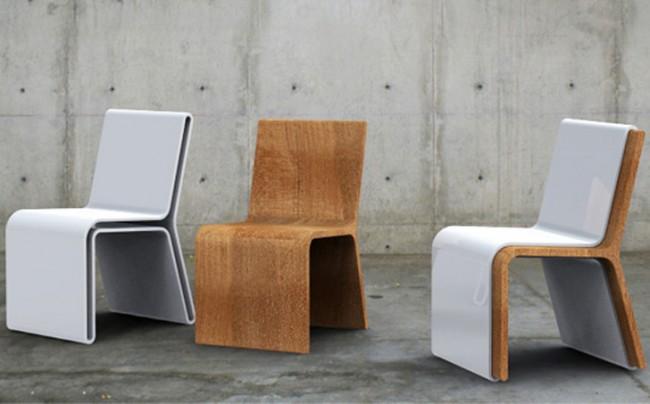 Ensemble compact de chaises mignonnes