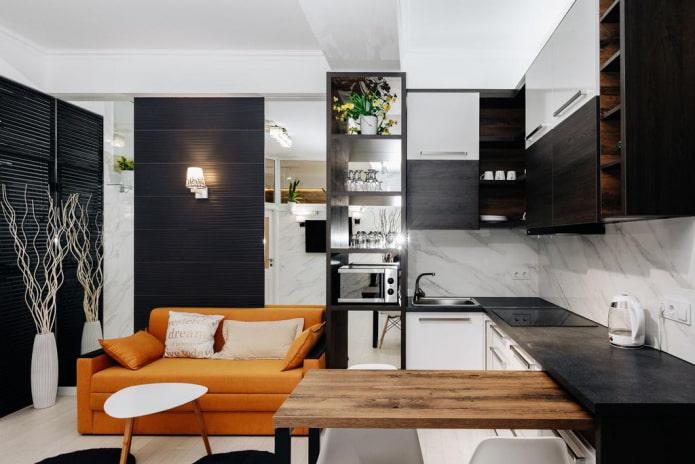 petite cuisine-salon