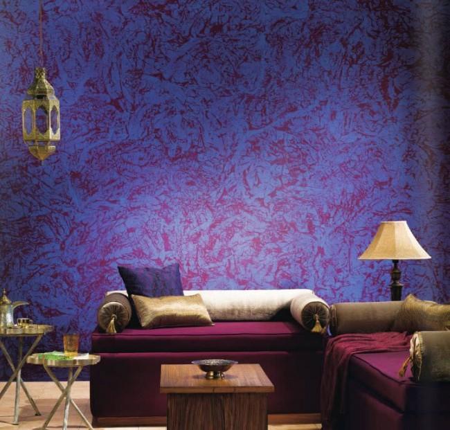 Peinture caméléon incroyablement belle à l'intérieur