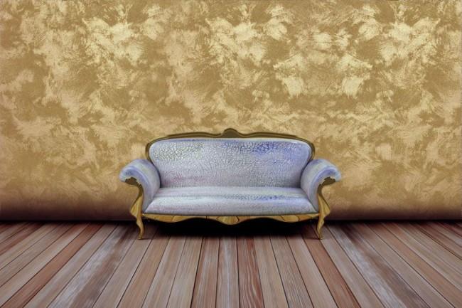 Le bronze noble décorera les murs du salon