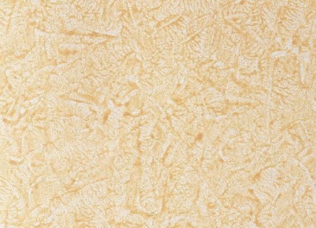La texture de la peinture appliquée par la technique
