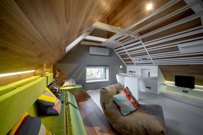 plafond stratifié