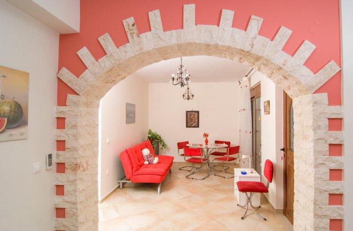 Arche avec imitation pierre