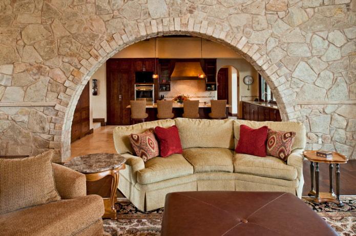 conception d'arche en pierre