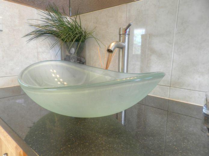 lavabo en verre