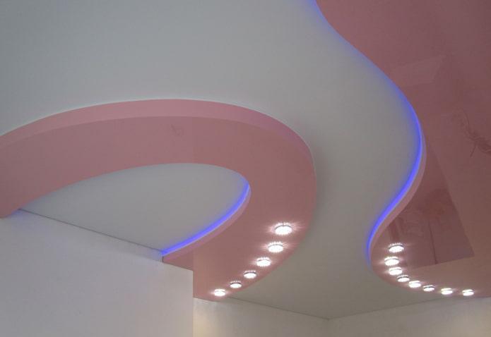 conception de tension rétroéclairée à deux couleurs