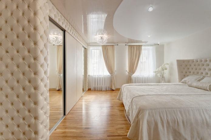 structure stretch bicolore dans la chambre