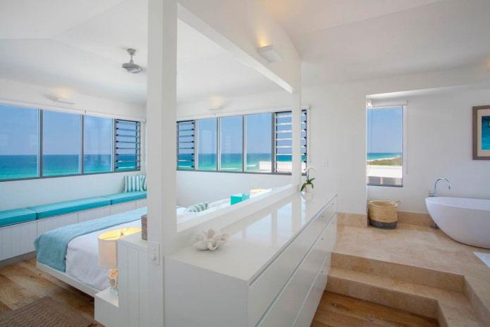 Chambre avec vue sur la mer