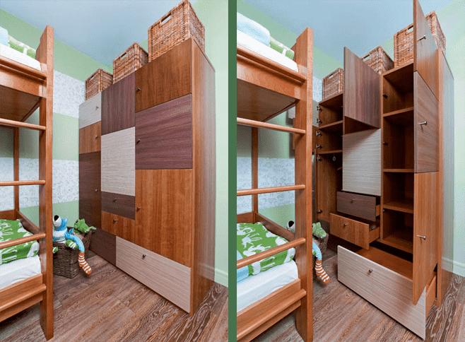 chambre d'enfants 15 m²  m.