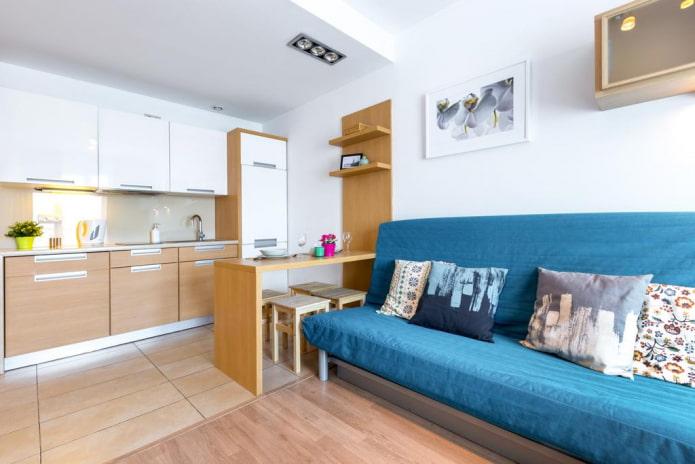 Appartement de style moderne