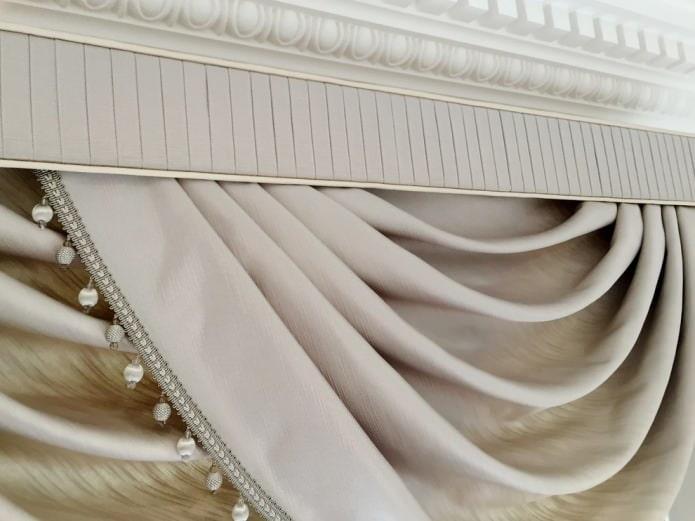 Rideaux de soie