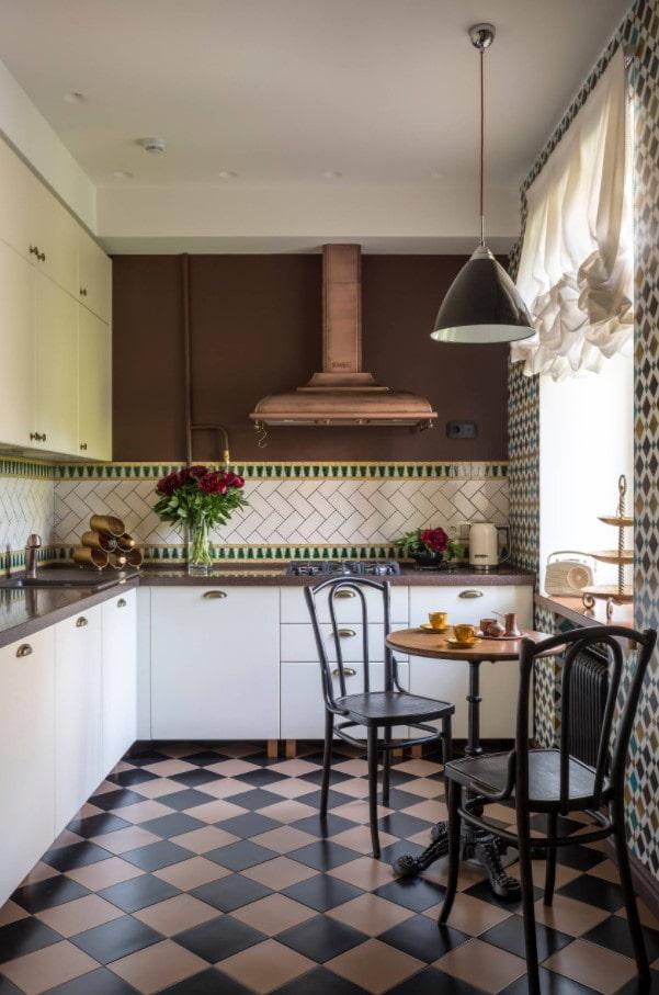 meubles de cuisine rétro
