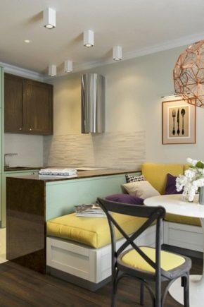 Belle conception d'un appartement de deux pièces d'une superficie de 60 m²