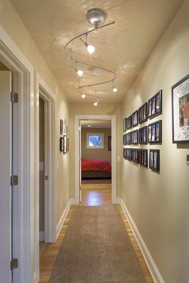 éclairage à l'intérieur du couloir