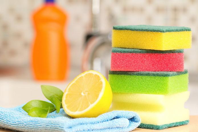 Citron pour nettoyer la cuisine