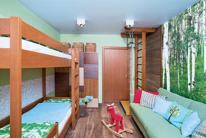 conception de chambre pour 2 garçons