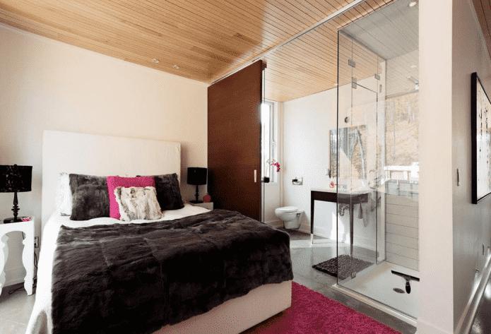 Chambre avec douche