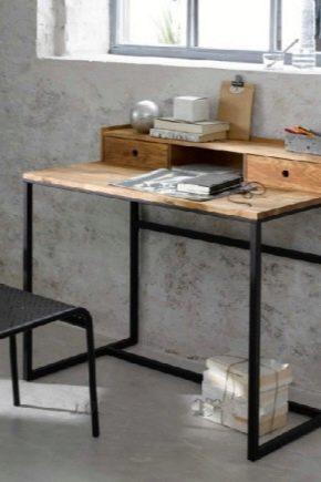 Table de style loft
